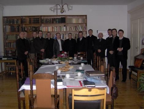 Konferencja księży Diecezji Mazurskiej w Giżycku 30.03.2008