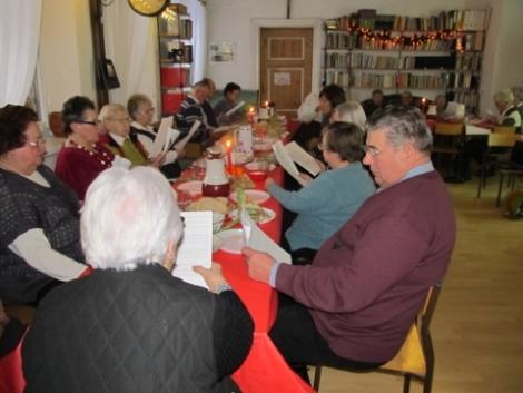 16.12.2012 Adwentowe spotkanie seniorów i samotnych