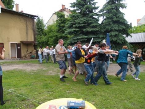 25.05.2010 Festyn parafialny dla dzieci i rodziców