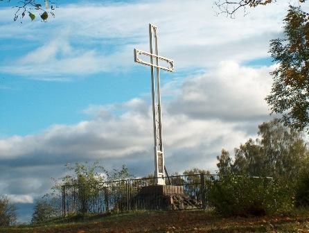 30.10.2009  - 99 rocznica postawienia Krzyża upamiętnaijacego przyniesienie Ewangelii na Mazury